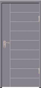 Gambar Pintu Engineering Warna Dust Grey